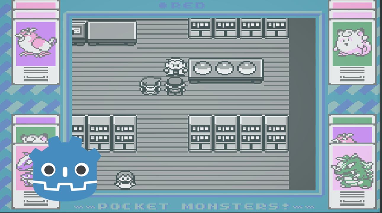 Creando Juegos en Godot 3: Pokemon Red (7)